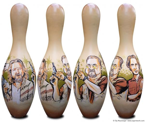 2009 02 00 Painted Bowling Lebowski 01