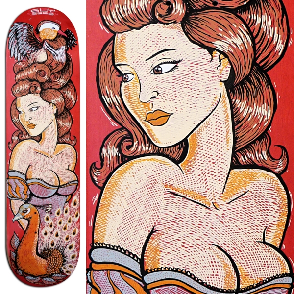 2009 04 00 Painted Skateboard Deck 02