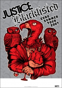2007 06 Blacklisted Justice Tour Poster