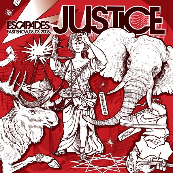 2008 01 00 Justice - Escapades