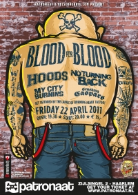 2011 06 30 Patronaat Blood For Blood Poster