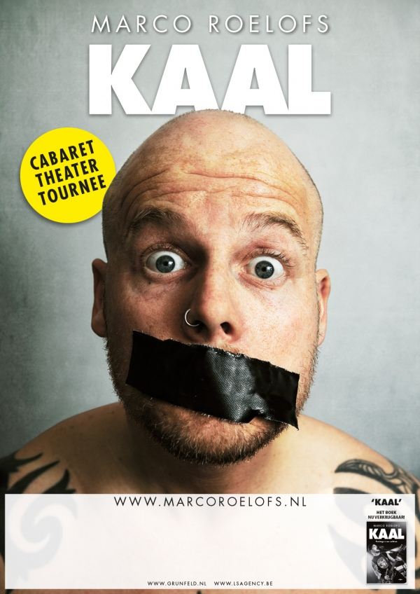 2012 02 10 Marco Roelofs Kaal Poster