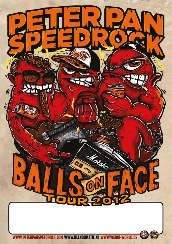 2012 05 10 Peter Pan Speedrock Balls On Face