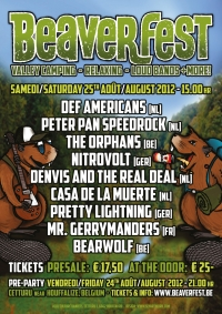 2012 08 25 Beaverfest Poster