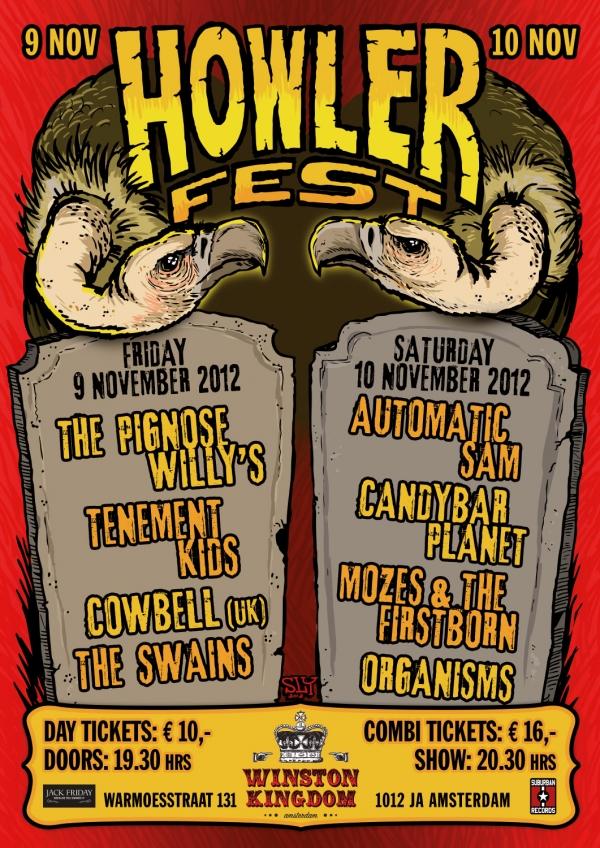 2012 11 09 Howler Fest Poster