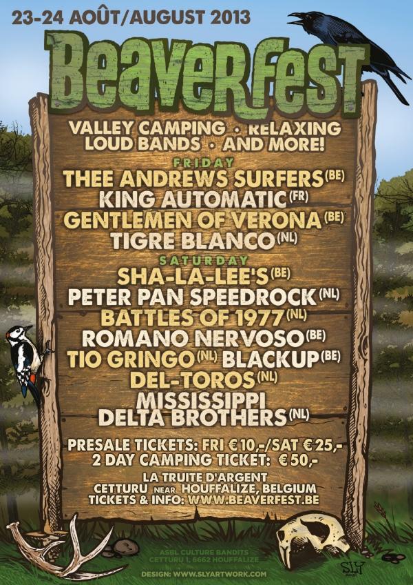 2013 08 23 Beaverfest Poster