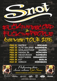 2015 02 21 Snot Tour Poster Germany