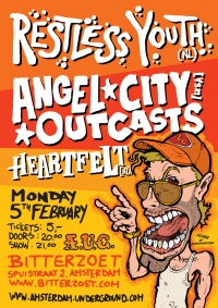 2007 02 05 AUC Restless Youth Flyer