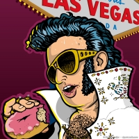 2007 05 09 Art - Elvis Vegas