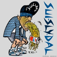 2008 05 23 Art - Suicidal Tendencies Pepsi Vomitter