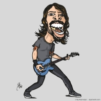 2008 06 19 Art - Dave Grohl
