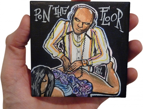 'Pon The Floor' painting (2011)