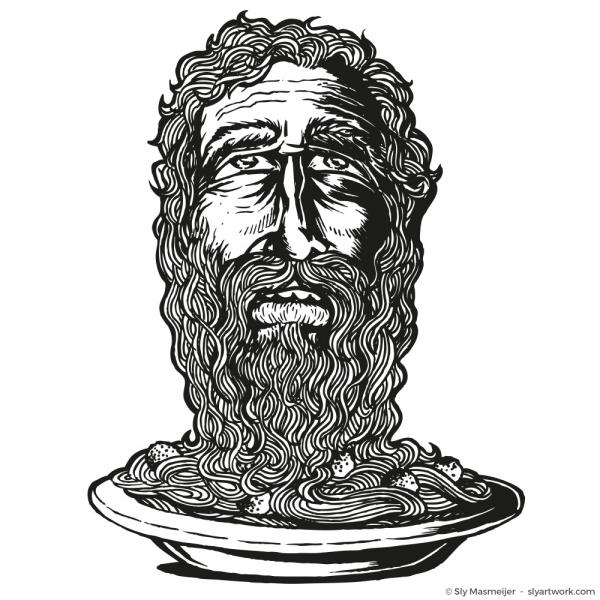 2011 03 17 Art - Spaghettibeard