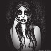 2013 03 30 Art - Black Metal Chick