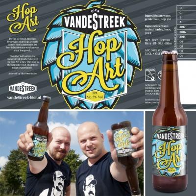 2014 06 24 Logo VandeStreek Hop Art