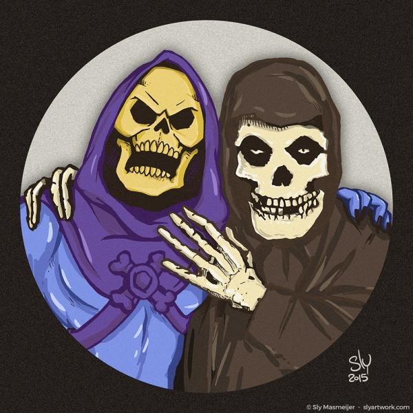 2015 10 28 Art - Skeletor Misfits