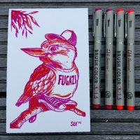 2016 08 00 Art - Fugazi Kookaburra