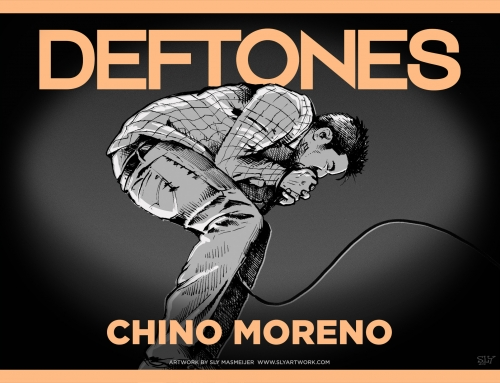 Deftones band illustrations – Chino Moreno (2015)