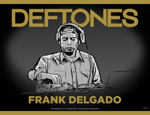 Deftones band illustrations – Frank Delgado (2015)