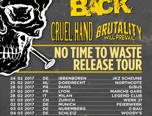 Tour poster No Turning Back – No Time To Waste Tour (2017)