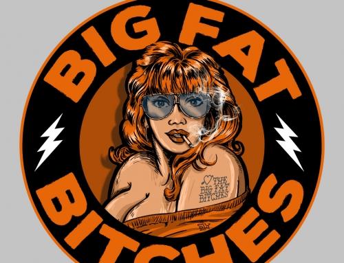 The Big Fat Bitches Logo (2017)