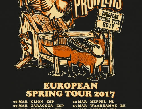 Tour poster Henhouse Prowlers – European Spring Tour (2017)