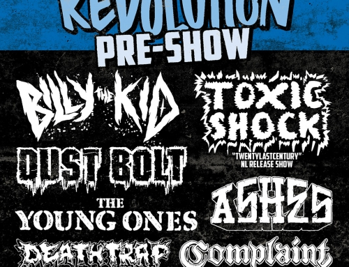 Show poster The Sound Of Revolution pre-show (2017)
