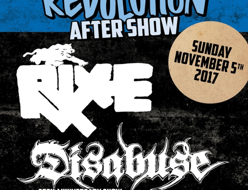 Show poster The Sound Of Revolution after show (2017)