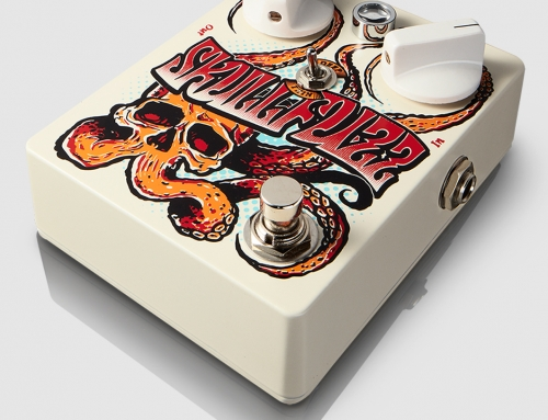 Dr.No Effects SkullFuzz guitar effect pedal design (2017)