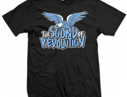 THE SOUND OF REVOLUTION T-shirt [2017]