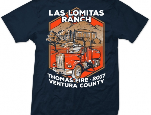 T-SHIRT Las Lomitas Ranche Fire Crew (2017)