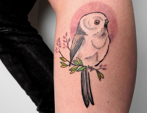 Tattoo Long Tailed Tit