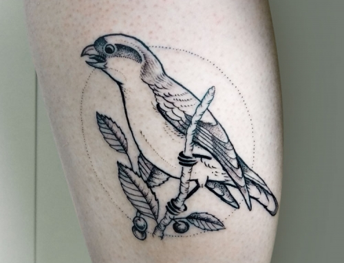 Tattoo Shrike