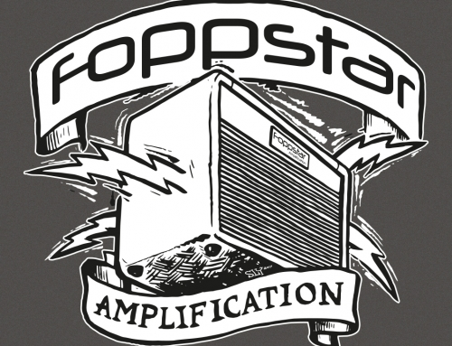 Foppstar Amplification Logo/Shirt design (2017)