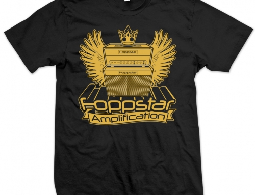 T-SHIRT Foppstar Amplification 'Royal' (2018)