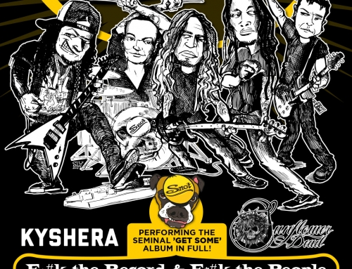 Show flyer & poster Snot – Winston Kingdom, Amsterdam (2015)