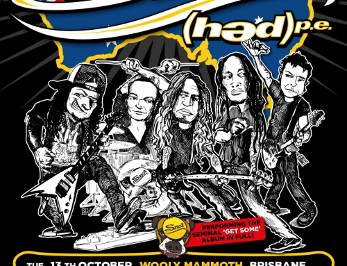 Tour flyer & poster Snot – Get Some Down Under – Australia (2015)