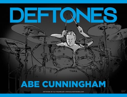 Deftones band illustrations – Abe Cunningham (2015)