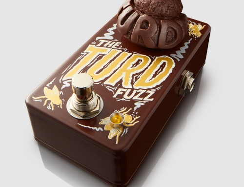 Dr.No Effects The Turd Fuzz guitar effect pedal design (2017)