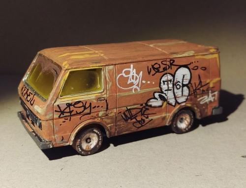 Siku VW van grafitti [2019]